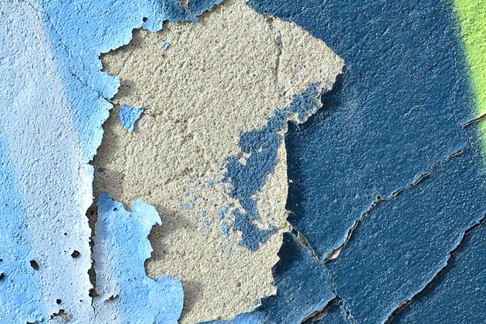 фото стены демонтаж